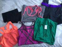 VARIOUS Womens Gym Running Gear Clothing (Reebok Adidas Fila USA Pro Under Armour Karrimor)