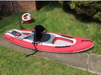 Canvas canoe for sale