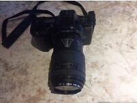 Minolta Dynax 3xi Camera with Sigma UC Zoom Lense