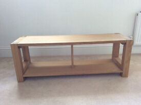 solid oak side table for sale