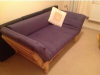 Single bed converts to sofa