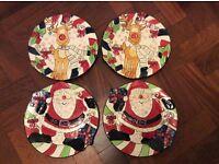 Gorgeous Christmas plates