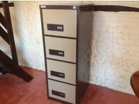 Filing Cabinet 4 drawer Good Condition