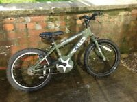 Boys 18 inch wheel mountain bike