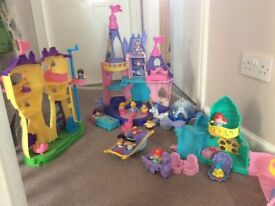 Disney fisher price little people.. musical and with all characters