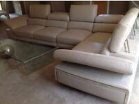 Max Divani Eiffel corner sofa. Hand made in Italy.