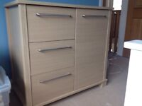 Mamas and Papas nursery storage unit