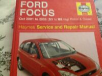 Focus workshop manual