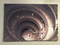 LARGE Stretch Canvas Print. One-off