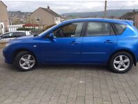 Mazda 3TS. MOT til january. Runs perfect. Selling due to move overseas. Few scratches as youd expect