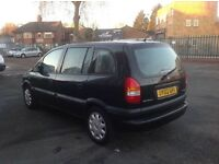 2002 Vauxhall Zafira Automatic Good Runner with mot