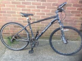Specialized Crosstrail Hy Brid Hydrolic Brakes ( Spares or repairs)