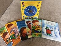 Harry & His Bucket Full Of Dinosaurs 6 book box set with cd