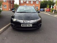 HONDA civic 1.8 5DR hatchback patrol manual 2009 full history 6 months mot miles 116000