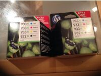 Totally genuine. New and unopened. HP Officejet ink cartridges.