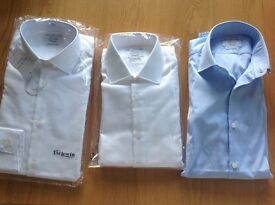 Any of 3 Superfitted T.M.Lewin shirt