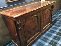 Antique Sideboard Serving Cabinet