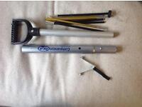 BCA Companion snow shovel with inbuilt probe.