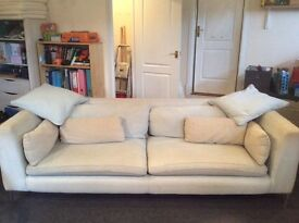 """Free second hand Large Sofa and """"Love Seat"""" -"""