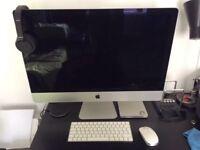 "27"" Mac desktop."