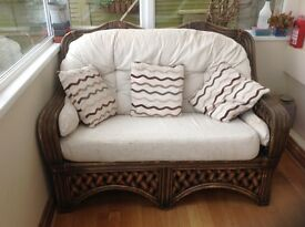 Conservatory Furniture - two seater and rocker - non smoking home