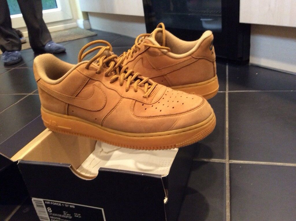 detailed look e22a2 326b3 Nike Air - Air Force 1 size uk 7 in light brown tan NEW PRICE