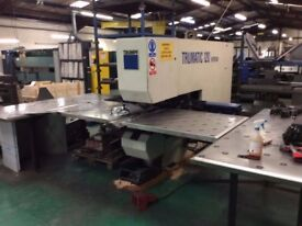 TRUMPF TRUMATIC 120 ROTATION CNC SHEET METAL PUNCHING MACHINE