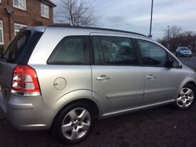 Vauxhall Zafira 2011 low mileage