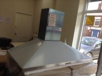 100cm stainless steel cooker hood. £60. RRP £169. New/graded 12 month Gtee