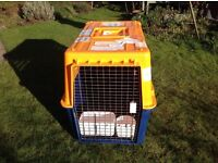 Large dogs transport crate