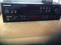 PIoneer amplifier and speakers -good quality system