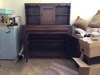 Kitchen/lounge dark oak dresser