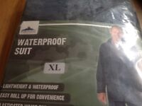 Waterproof Suit Blue Extra Large