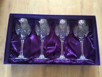 """Edinburgh Crystal Wine Glasses """"Never Used"""""""