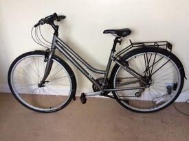 Ladies Ridgeback Bycycle - Speed Metro - hybrid/town bike