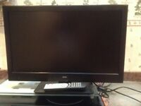 Bush 24 inch TV with built in DVD
