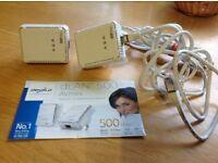 DEVOLO dLAN 500 Homeplug starter kit for internet connection