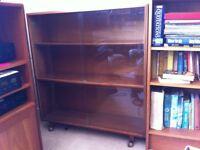 Bookcase-solid wood, adjustable shelves