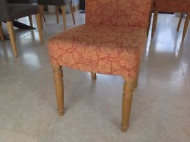 6 x Upholstered Dining Chairs
