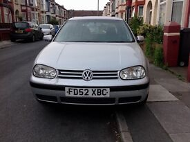VW GOLF S - 5 door Hatchback Silver in colour . Mot'd till Dec