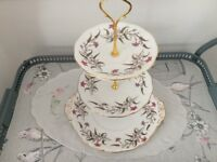 Royal Standard Bone China 3 Tier Cake Stand. Fancy Free.