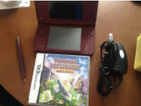 Nintendo DS i XL comes with 2 DS Games Pokemon Pearl + Charge + Pen + Manual