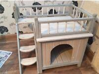 Indoor s cat or dog kennel . SORRY SOLD