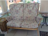 ERCOL two seater settee