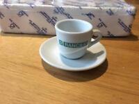 Rancilio Espresso Cups & Saucers