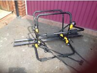 Halfords car bike rack (fits one or two bikes)