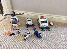 Imaginext ambulance set