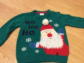 Boys Christmas jumper 18-24 months