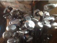 Golf clubs job lot
