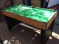 Multi-sports Table - pool, air hockey & table tennis